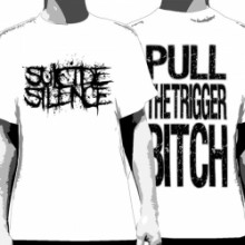 Suicide Silence Lyric Tee