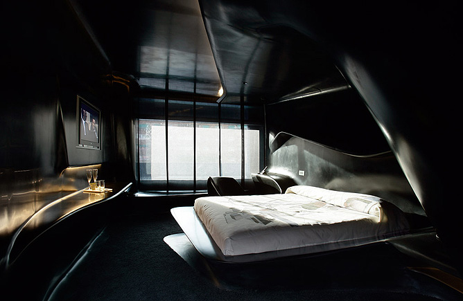 Zaha hadid interior design kingscliff design history for All black bedroom furniture