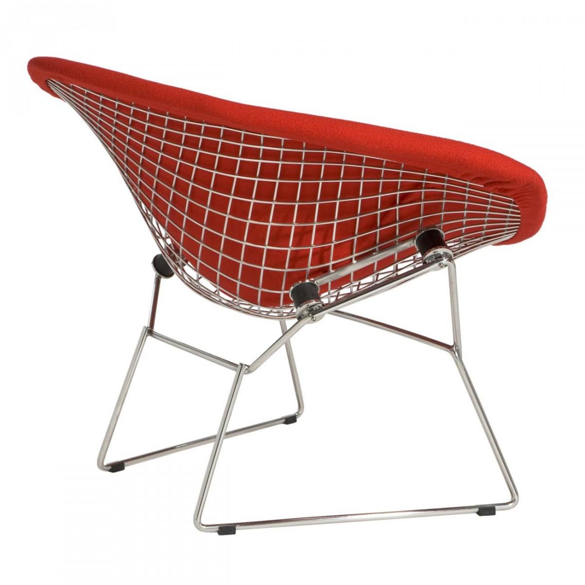 Diamond Chair Full Upholstery Inspired By Harry Bertoia